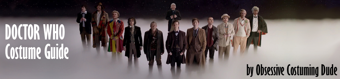Doctor Who Costume Guide - Obsessive Costuming Dude